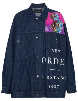 New Order Denim Jacket by Raf Simons