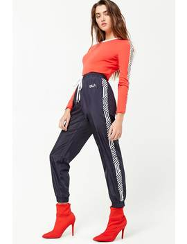 Striped Cali Joggers by Forever 21