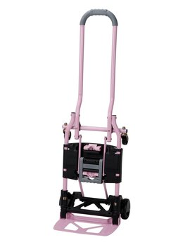 Cosco Shifter 300 Pound Capacity Multi Position Folding Hand Truck And Cart, Pink by Cosco