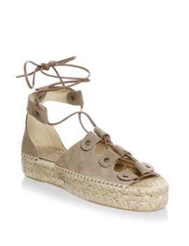 Ghillie Suede Platform Espadrille Sandals by Soludos