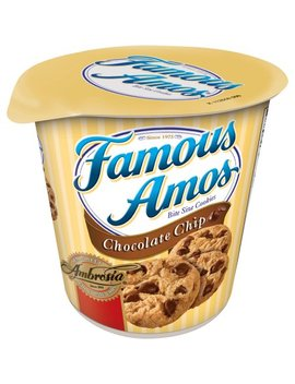 Famous Amos Chocolate Chip Bite Size Cookies, 2.7 Oz by Famous Amos