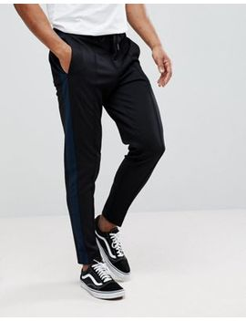 Selected Homme Tapered Trouser With Stripe by Selected Homme