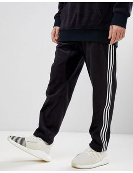 Adidas Originals Adicolor Velour Joggers In Tapered Fit In Black Cy3544 by Adidas Originals