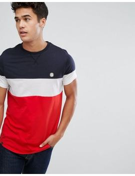Le Breve Color Block T Shirt by T Shirt