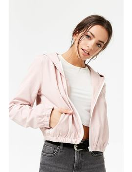Twill Hooded Jacket by F21 Contemporary