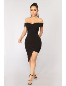 Do Or Die Dress   Black by Fashion Nova