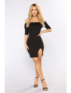 Bad Together Mini Dress   Black by Fashion Nova