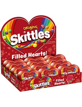 Skittles Original Filled Valentine's Day Heart 2.17 Ounce, 12 Count by Skittles