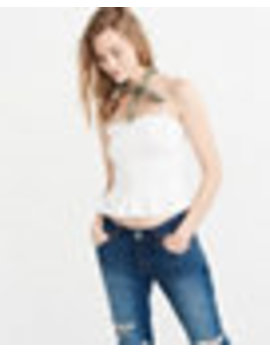 Smocked Cami by Abercrombie & Fitch
