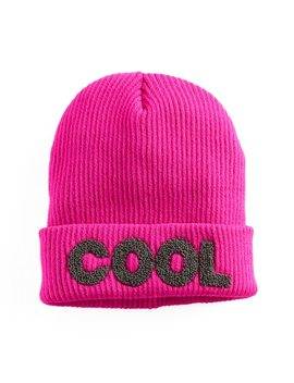 "Women's Mudd® Embroidered ""Cool"" Beanie by Mudd"