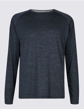 Active Performance Textured T Shirt by Marks & Spencer