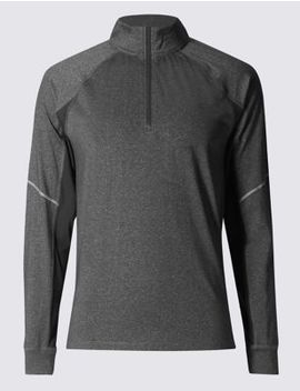 Active Funnel Neck Top by Marks & Spencer
