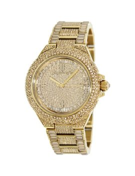 Michael Kors Women's Camille Mk5720 Gold Stainless Steel Japanese Quartz Fashion Watch by Michael Kors