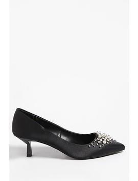 Privileged Shoes Faux Pearl Heels by Forever 21