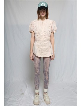 Queen Marie Silk Shirt by No Brand Name