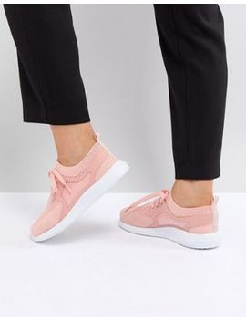 Asos Delta Knit Lace Up Sneakers by Asos Collection