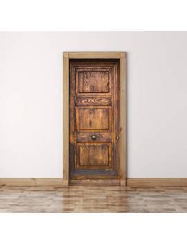 Vintage Door Decal, Peel And Stick, Vinyl Door Sticker, Self Adhesive Decor, Door Decal, Self Adhesive Door Decal, Self Adhesive Wallpaper by Etsy