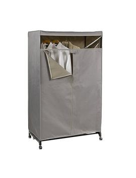 Grey Clothes Closet by Container Store