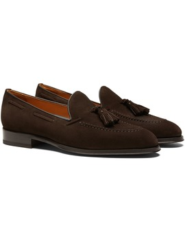 Dark Brown Tassel Loafer by Suitsupply