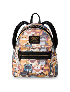 Ewok Mini Backpack By Loungefly   Star Wars by Disney