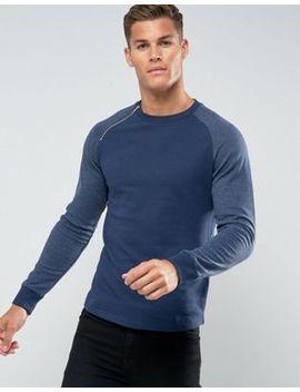 Troy Raglan Curved Hem Sweatshirt by Sweatshirt
