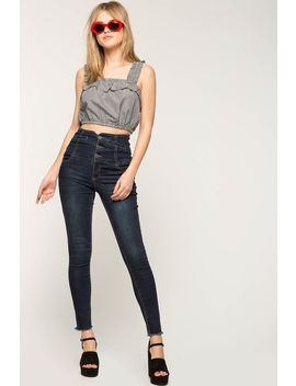 Extreme High Waist Denim Pant by A'gaci