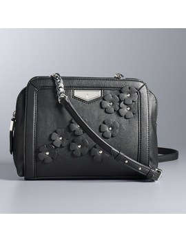Simply Vera Vera Wang Midnight Crossbody Bag by Kohl's