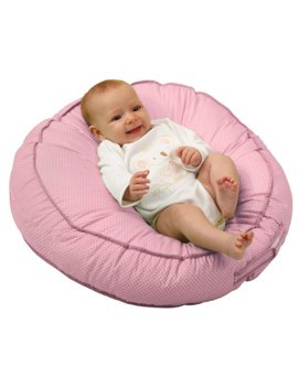 Leachco Podster Sling Style Infant Lounger, Pink Pin Dot by Leachco