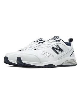 New Balance 623v3 Trainer Mens Shoes White With Navy by New Balance