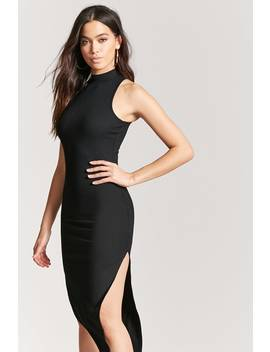 Ribbed Knit Dress by F21 Contemporary