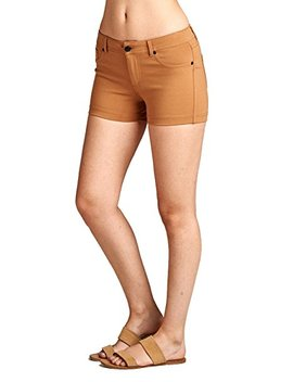 Emmalise Women's Summer Casual Stretchy Shorts   Junior Sizing by Emmalise