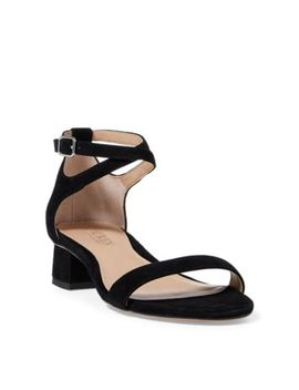 Betha Suede Sandal by Ralph Lauren