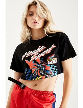 Honda Graphic Crop Tee by F21 Contemporary