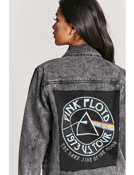 Pink Floyd Graphic Denim Jacket by F21 Contemporary