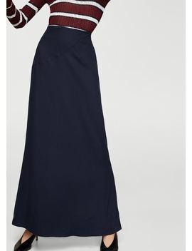Soft Fabric Long Skirt by Mango