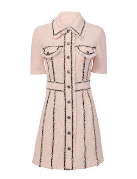 Azra Tweed Mini Dress by Veronica Beard
