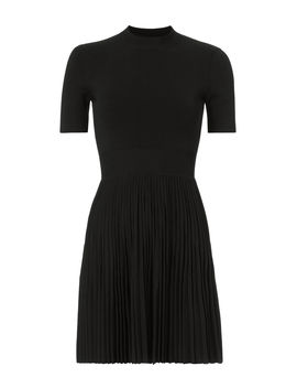 Pleated Skirt Mini Dress by Alexander Wang