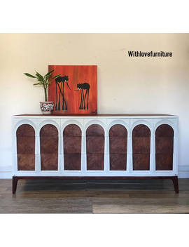 Mcm Mid Century Modern Credenza Sideboard China Buffet Cabinet Table, Mcm Media Console, Dresser, Chest Of Drawers, Tv Stand by Etsy