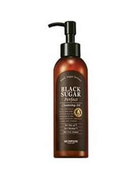 Online Only Black Sugar Perfect Cleansing Oil by Skinfood