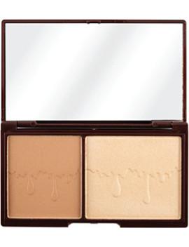 Mini Chocolate, Bronze & Glow, Powder Bronzer & Highlighter Duo by Makeup Revolution