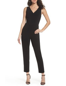 Asymmetrical Pleat Jumpsuit by Ali & Jay