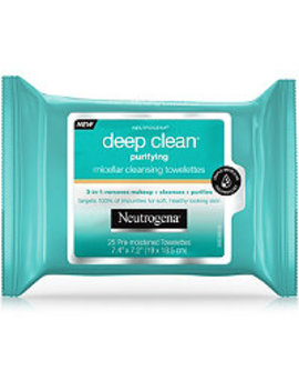 Deep Clean Purifying Micellar Towelettes by Neutrogena