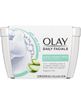 Daily Sensitive Cleansing Cloths Tub W/ Aloe Extract by Olay