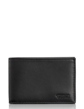 Delta Id Lock Shielded Slim Single Billfold by Tumi
