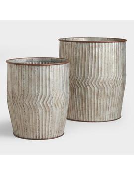 Metal Peyton Barrel by World Market