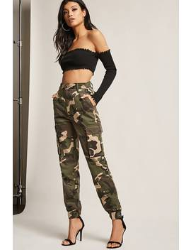 Camo Cargo Pants by F21 Contemporary
