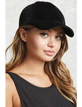 Velvet Baseball Cap by F21 Contemporary