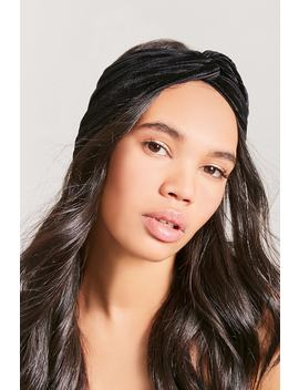 Textured Twist Front Headwrap by F21 Contemporary