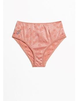 Satin High Waisted Panty by & Other Stories