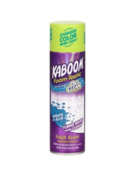 Kaboom Foamtastic Bathroom Cleaner, Fresh Scent, 19oz Spray Can by Kaboom